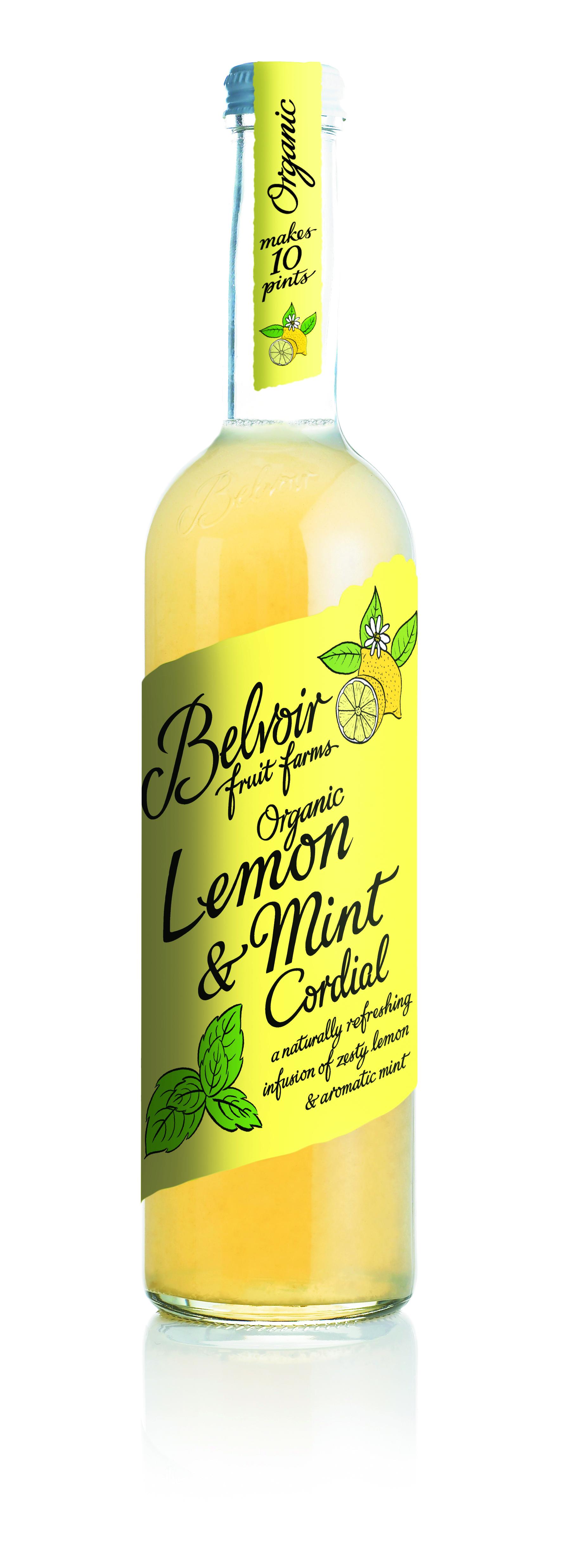 Lemon & Mint Cordial BIO