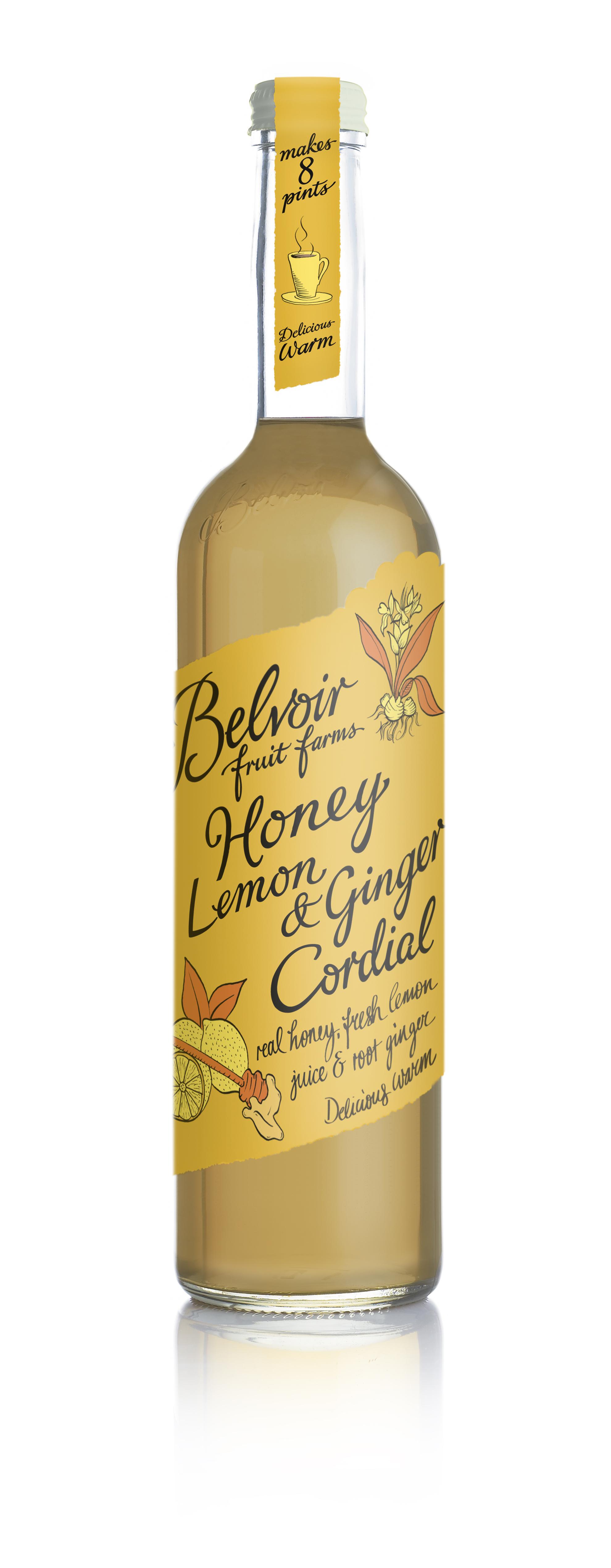 Honey Lemon Ginger Cordial