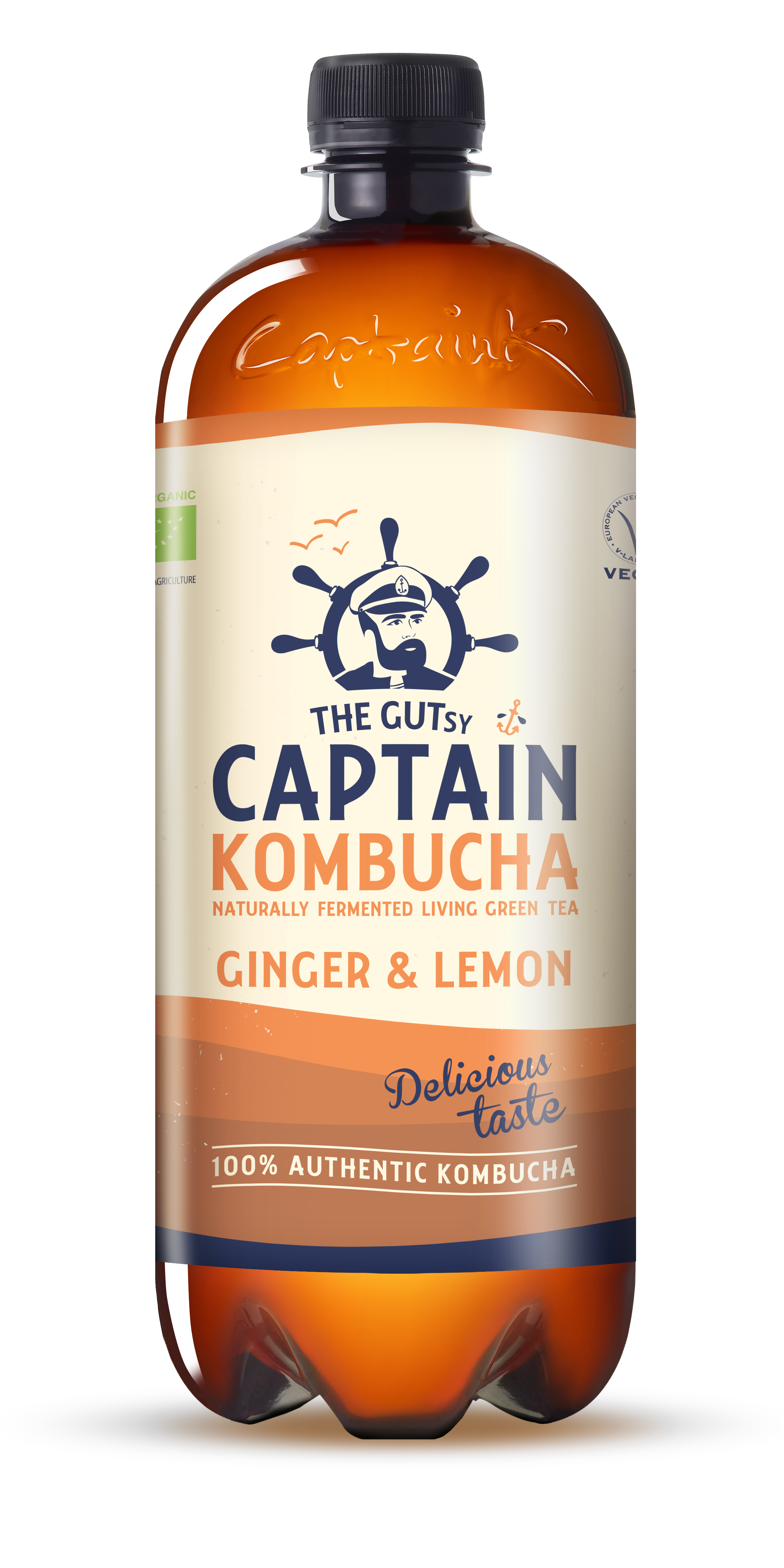 Kombucha Ginger Lemon BIO