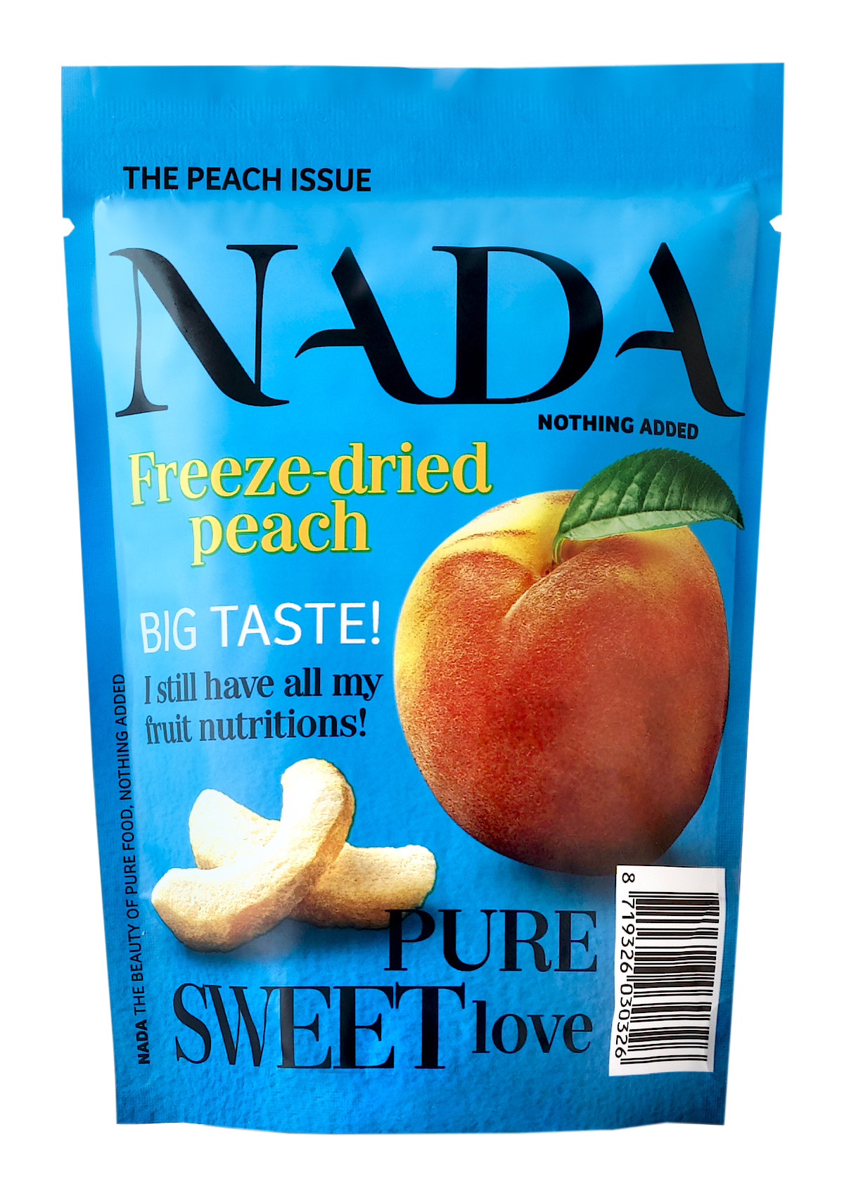 NADA freeze-dried peach