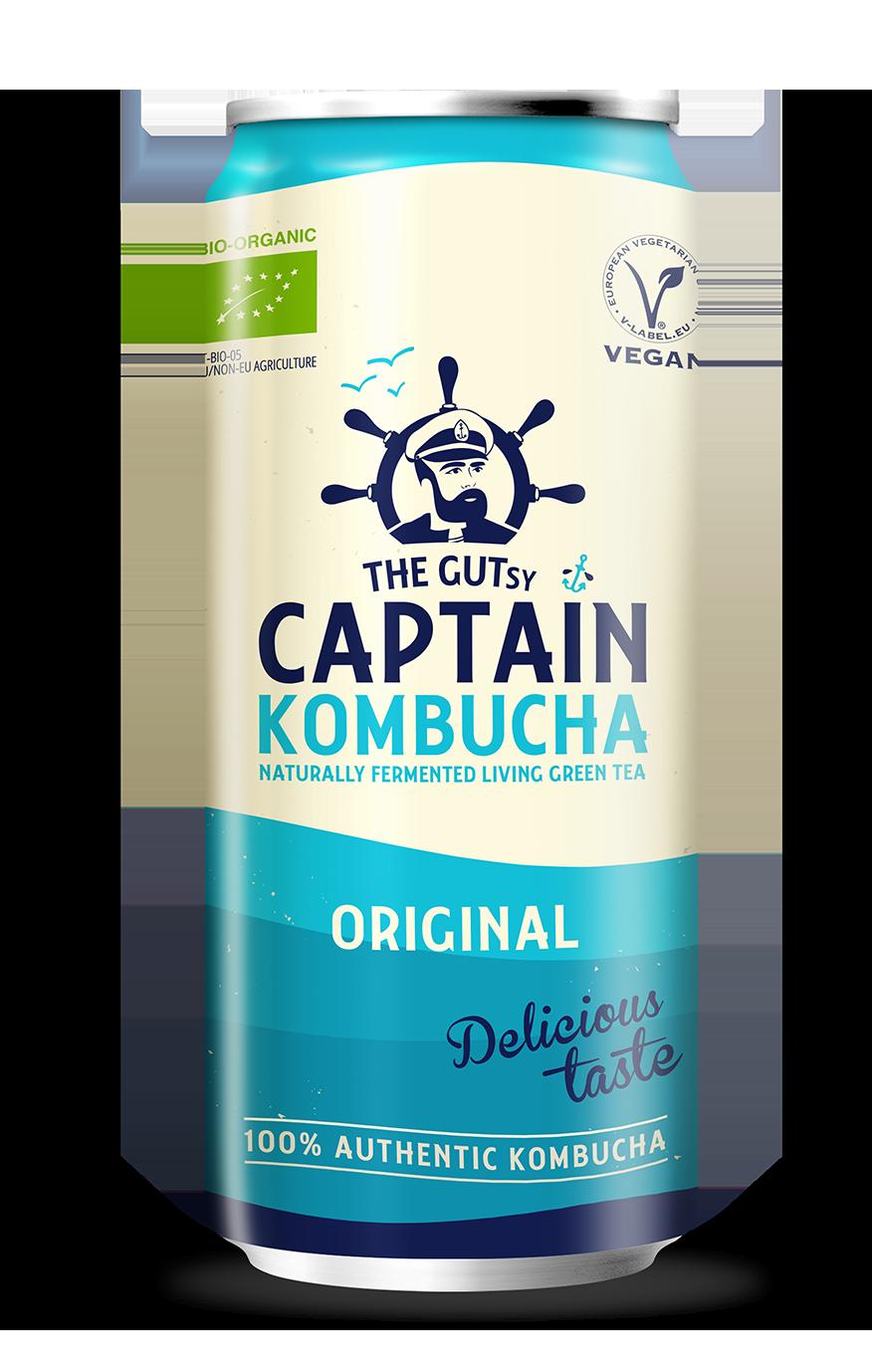 The Gutsy Captain Kombucha Original BIO
