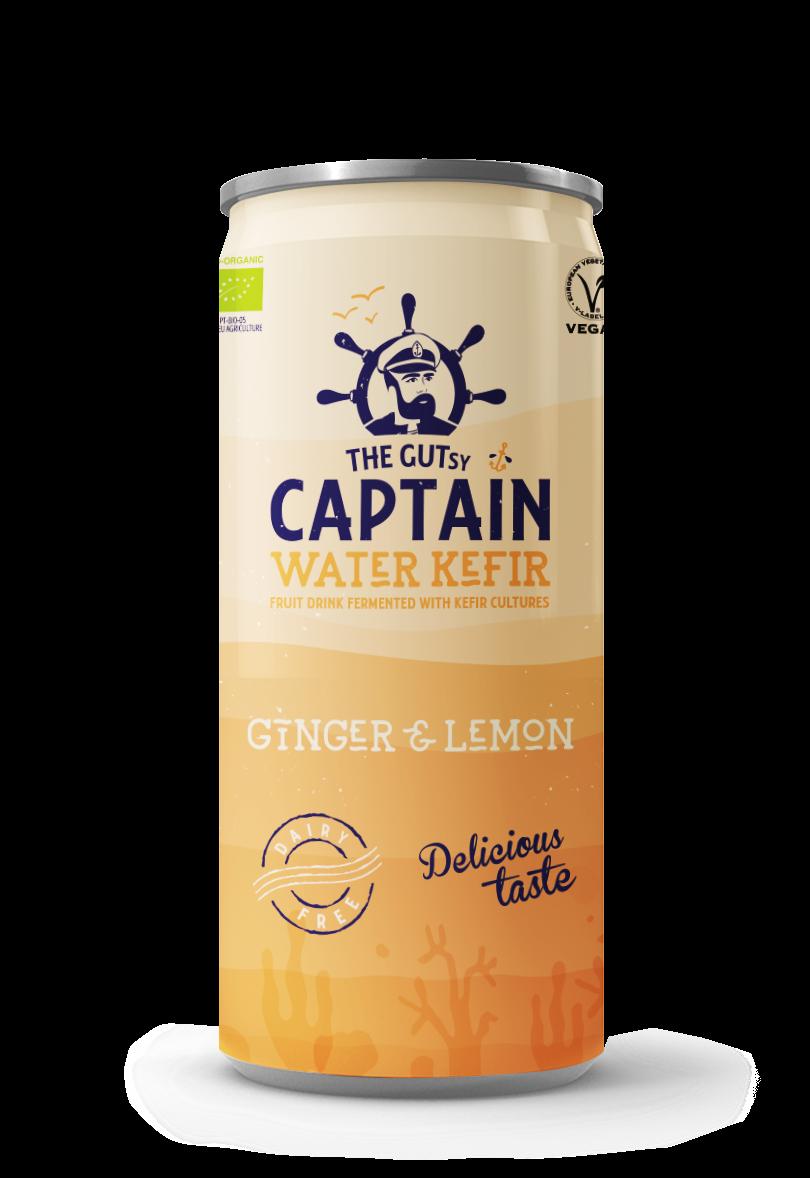 Water Kefir Ginger & Lemon
