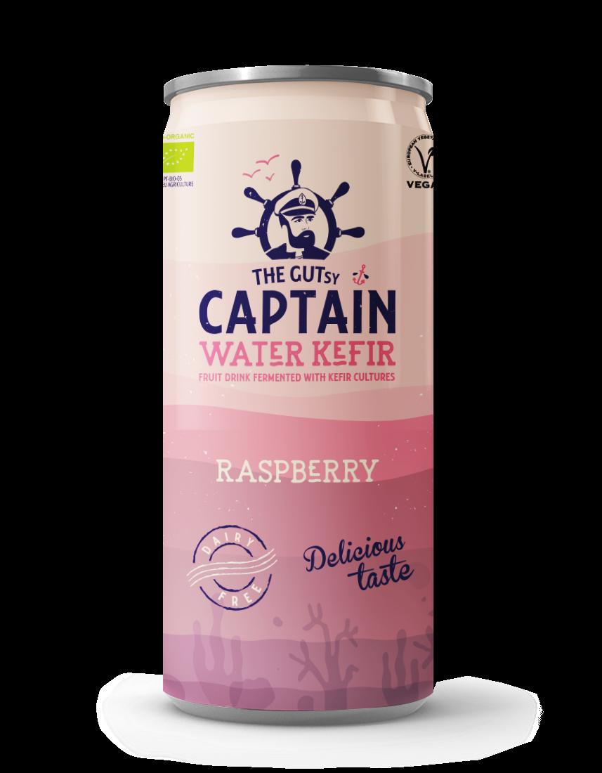 Water Kefir Raspberry