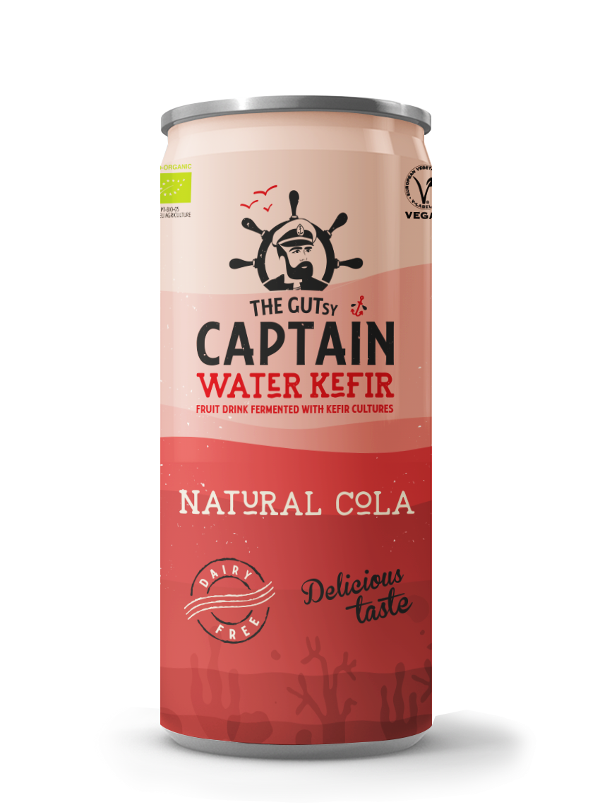 Water Kefir Natural Cola