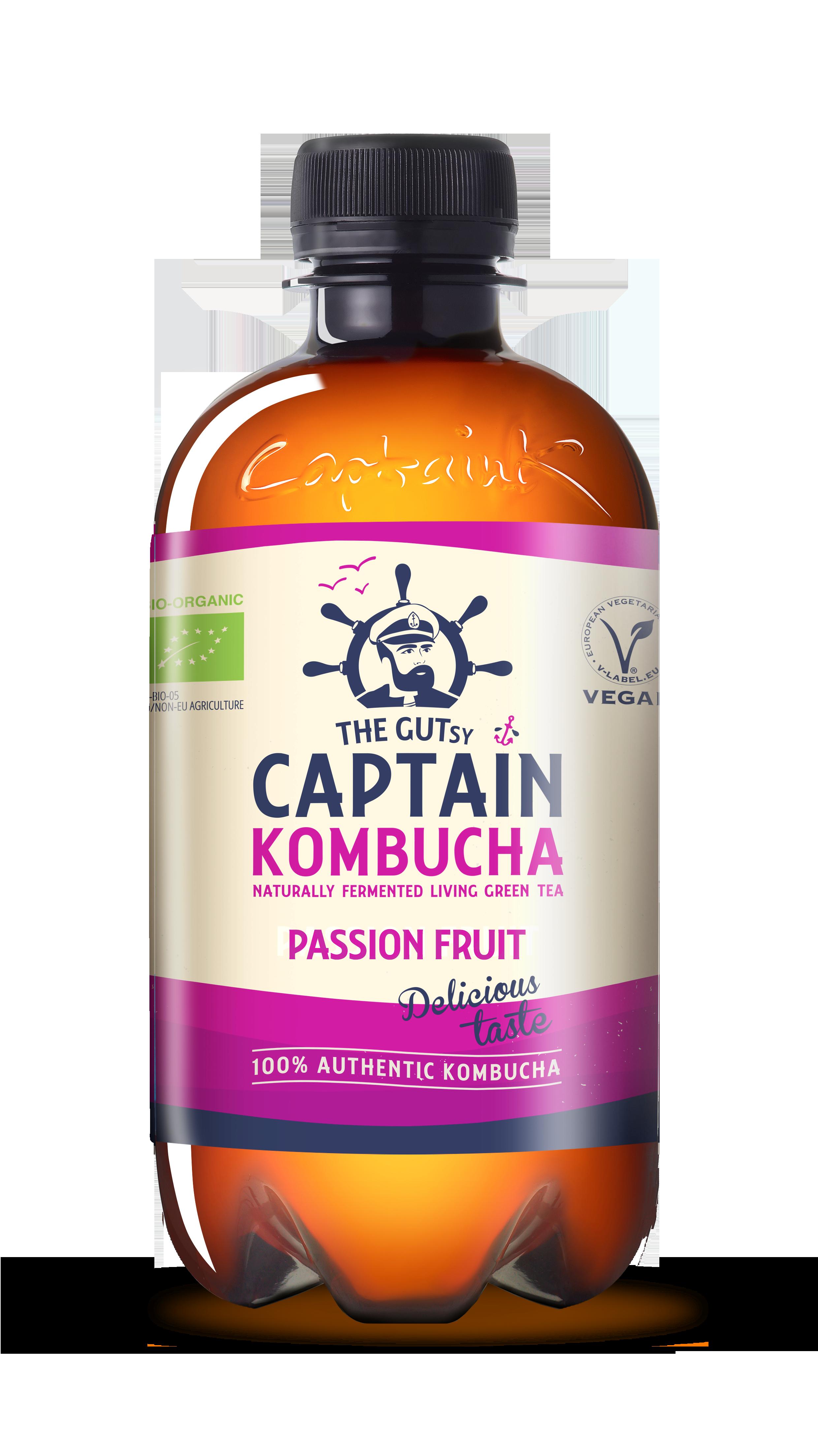 Kombucha Passion Fruit BIO